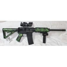 Anderson 458 SOCOM Green Reaper, Scope, Laser Flashlight