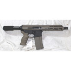 "Anderson AR-15 FDE Pistol, 5.56,  Side Charger, 7.5"" Barrel"
