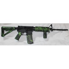 Anderson 5.56 NATO Rifle, Magpul Green Reaper Set, Vertical Grip, A2 Front Site