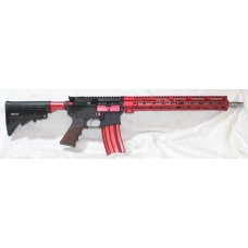 "Anderson Red AR15, 223 Wylde, SS Barrel, 15"" Slim M-LOK 556 / 223"