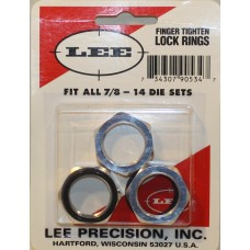 Lee Replacement Lock Rings Set For All Lee Dies 90534