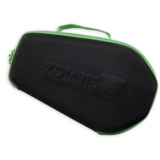 Bulldog Molded Black & Green Trim  Zombie Coffin Pistol Hard Case