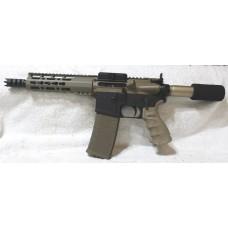 "Anderson AR-15 Left Hand FDE Pistol, 7.5"" Barrel, Caliber 300BLK"