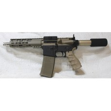 "Anderson AR-15 Left Hand FDE Pistol, 7.5"" Barrel, Caliber 223/5.56"