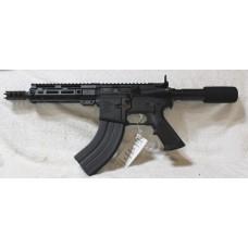 "Anderson AR-15 Left Hand 7.62x39 Pistol, 7.5"" Barrel,  Aluminum Lower, 7"" Slim M-Lok Handguard"