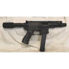 "ABC Rifle Company 9MM AR9 Pistol, Glock Mags, 4.5"" Barrel"