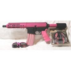 "Anderson AR-15 Pink Pistol, 5.56,  Side Charger, 7.5"" Barrel"