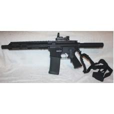 Anderson BCA AR-15 50 Beowulf Pistol 12.7x42 Reflex & Laser