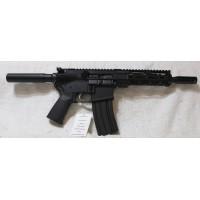 "Anderson AR-15 Pistol, 7.5"" Barrel, Caliber 458 SOCOM, Aluminum Lower, 7"" Slim M-LOK Hand Guarduard, 10 Round Mag"
