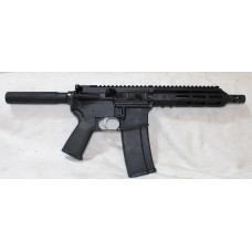 "Anderson AR-15 Pistol, 7.5"" Barrel, Caliber 223/5.56, Aluminum Lower, 7"" Tactical MLOK Handguard"