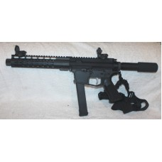 "New Frontier DD 4"" 9MM Pistol Glock Mags PU Sites"
