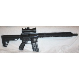 "Anderson Punisher AR15 458 SOCOM Bear Creek Complete upper, 15"" MLOK, 3X Red Dot"