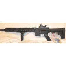 ABC BCA 9MM AR Rifle, Glock Mags, 33 Rounds, Reflex Sight With Laser