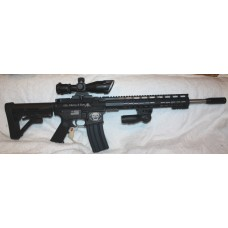 Stag Arms 15L Left Hand AR-15 5.56 Rifle Custom Engraved Liberty