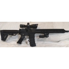 "Anderson BCA AR15, 5.56 NATO, 15"" Slim M-LOK, 2.5-10X40 Dual Illuminated Scope With Laser, Folding Vertical Grip"