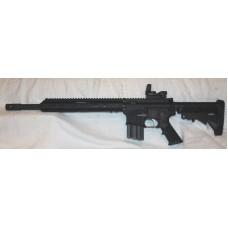 "Anderson BCA AR15 450 Bushmaster, 15"" Slim MLOK, Reflex Site, 7 Round ASC Mag"