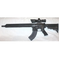 "Anderson BCA AR15, 7.62X39, 15"" Slim M-LOK, 2.510X40 Scope With Laser"