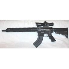 "Anderson BCA AR15, 7.62X39, 15"" Slim M-LOK, 2.510X40 Scope With Laser"