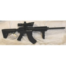 Anderson AR15 7.62x39 Semi Auto Rifle, Scope, Laser