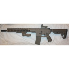Anderson Custom AR-15 Rifle, FDE Duracoat, Reflex 5.56