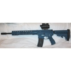 Anderson Custom AR-15 Rifle, Blue Cerakote 5.56 NATO