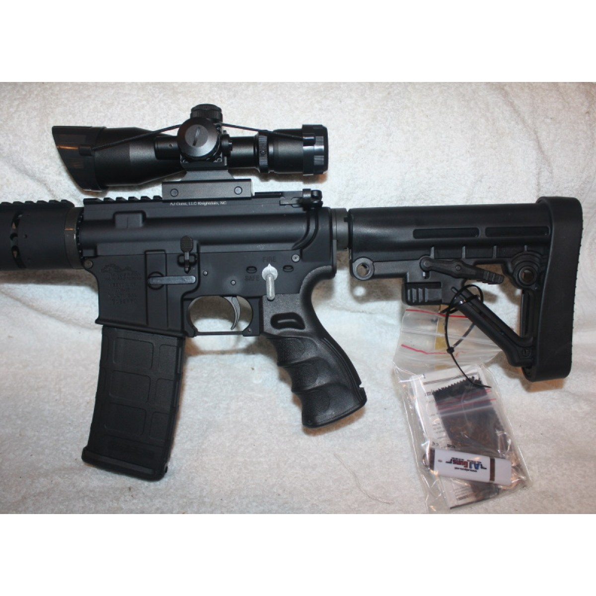 Anderson AR-15 Rifle, Caliber 300BLK, 16