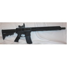 "Anderson AR15 458 SOCOM, 15"" Slim Key Mod, Red Dot"