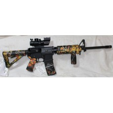 Bear Creek 5.56 NATO Rifle, Magpul Wildfire Set, Vertical Grip, 4X32 Tricolor Scope With BUIS