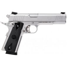 "Taurus 1191109 1911 Standard 45 ACP 5"" 8+1 With Heinie Sight Black Grip Stainless Steel"