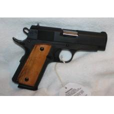 Rock Island Armory M1911A1 Compact Officers 45ACP Semi Auto Pistol, 3.5 Inch Bull Barrel