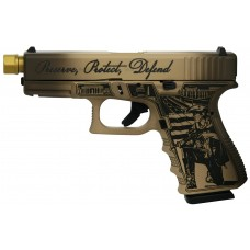 Glock 19 Gen 3 Custom Constitution Engraved 9MM Pistol