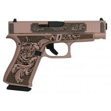 """Glock Model 48 Gen 4 Custom """"Glock n Roses"""" Handgun 9mm Luger 10rd Magazine 4.17"""" Barrel Slide"""