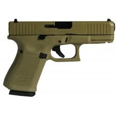 "Glock 19 Gen5 CSSI Exclusive ""FDE"" W/Front Serrations USA Handgun 9mm Luger 15rd Magazine 4.02"" Barrel Fixed Sights FDE"