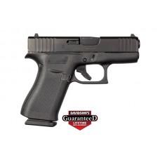 Glock 43X 9MM Pistol, Black, 10 Rounds, 2 Mags