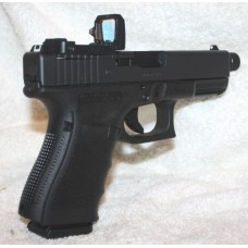 Glock 17 Gen 4 MOS Threaded Barrel Flip Up Reflex Sight
