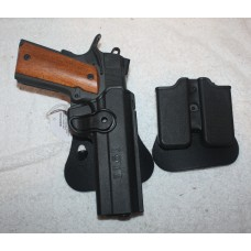 Rock Island 51431 Tactical 1911 45ACP 8 Rounds Holster and Mag Holder
