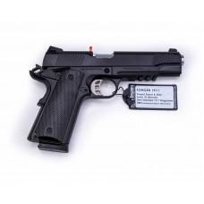 "SDS Imports Tisas 1911CB45R 1911 Carry with Rail 45 ACP 4.25"" 8+1 Black Cerakote"