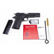 "SDS Imports 1911A1S9 1911 A1 Service 9mm Luger 5"" Barrel 9+1 Rounds Black Cerakote"
