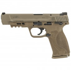 """Smith & Wesson FDE M&P9 M2.0 9MM Pistol, 5"""" Barrel, 17 Rounds, 2 Mags 11537"""