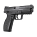 """Zigana PX-9, 9MM, 4"""" Barrel, Black Melonite Finish, 18Rd, 2 Magazines, Includes Holster and Mag Loader"""