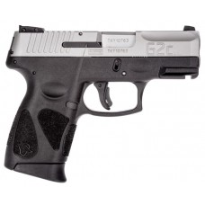 Taurus G2C 40SW Semi Auto Pistol, Black & Stainless, 3.2 Inch Barrel, 10 Rounds, 2 Mags