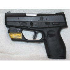 Taurus 709FS 7+1 Rounds 9MM Slim Black Semi Auto With Lifetime Warranty, Armalaser