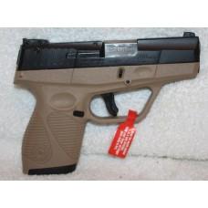 Taurus PT709 9MM Semi Auto Pistol FDE/BLK