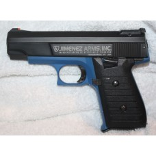 Jimenez JA Nine 9MM Factory NRA Blue & Black 12 RD