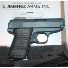 Jimenez Arms J A 380  380ACP Semi-Automatic Pistol, NRA Blue