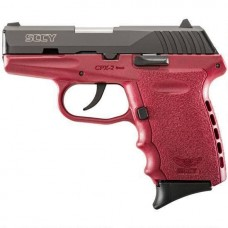 SCCY CPX2-CBR 9MM Semi Auto Pistol Red 10 Rounds, 2 Mags