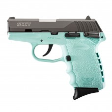 SCCY CPX2-CBSB 9MM Semi Auto Pistol Sky Blue 10 Rounds, 2 Mags