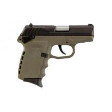 SCCY 9MM Semi Auto CPX-1 Gen-2 Pistol, FDE/Black