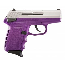 """SCCY Industries CPX1TTPU CPX-1 Double Action 9mm 3.1"""" 10+1 Purple"""