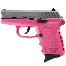 SCCY CPX2-TTPK 9MM Semi Auto Pistol Pink 10 Rounds, 2 Mags